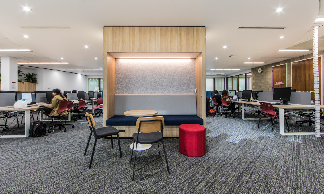 IA Design – Interior Design Architecture – Murdoch University Service Library